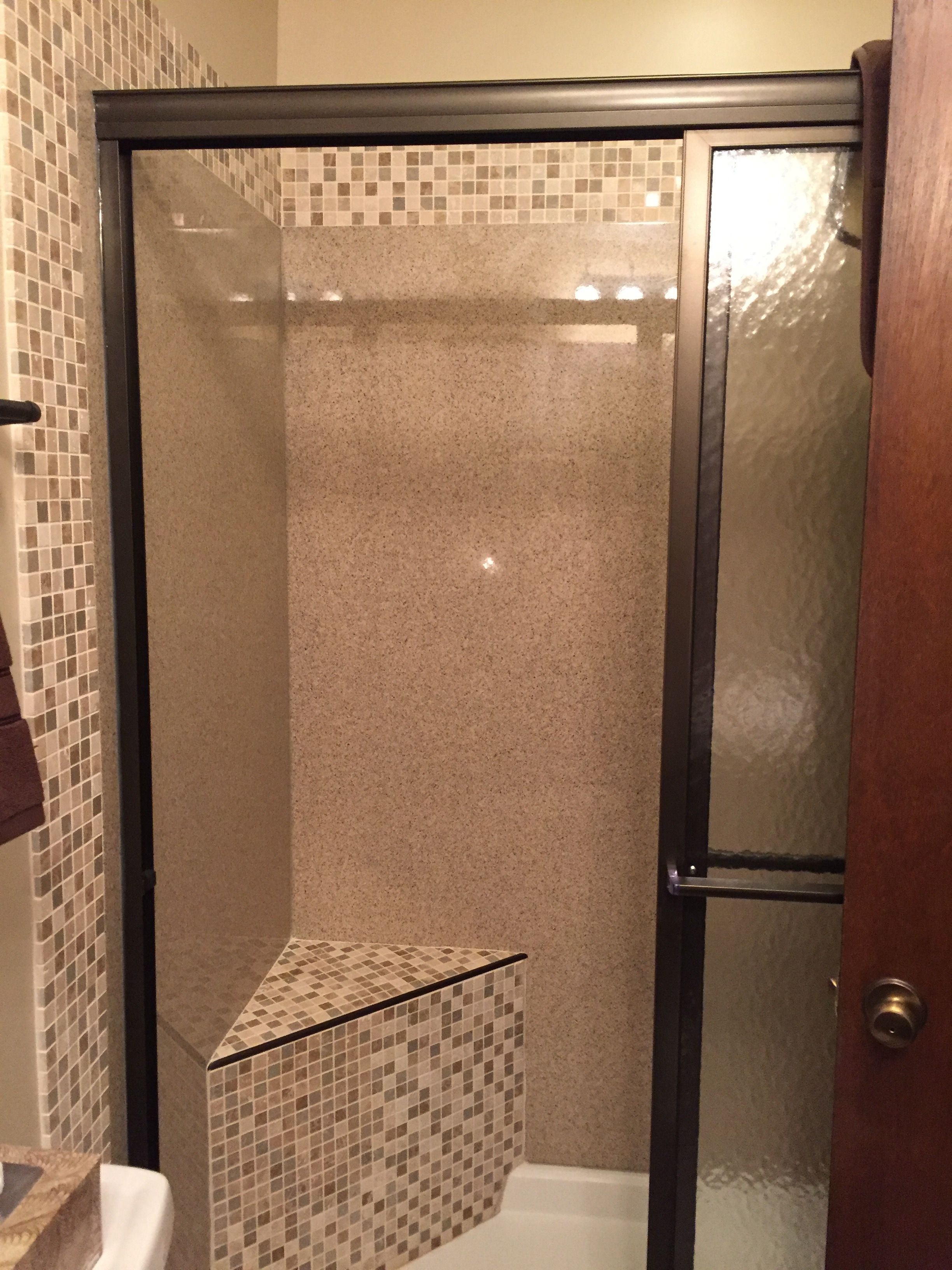 Us Marble Shower Base Walls Accent With Tile Selected By The