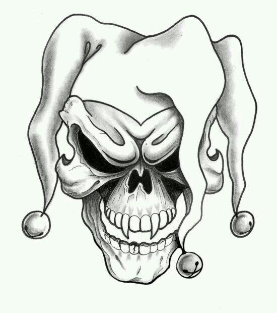 Home Gym Skull Tattoo Design Joker Tattoo Design Skulls Drawing