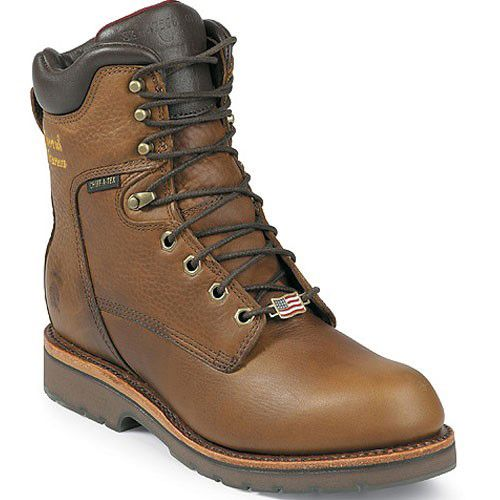 Chippewa boots, Mens lace up boots