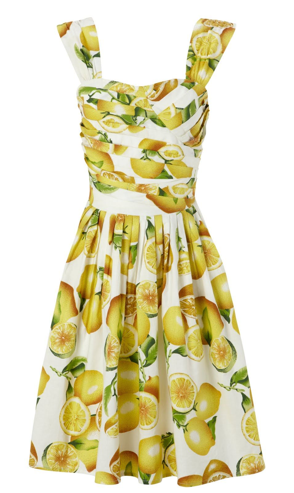 Just Love A Fruit Print Dress Lemon Print Dress Lemon Dress Print Dress [ 1600 x 956 Pixel ]