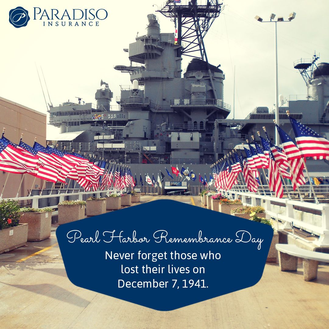 Today Is Pearl Harbor Remembrance Day Please Don T Forget About