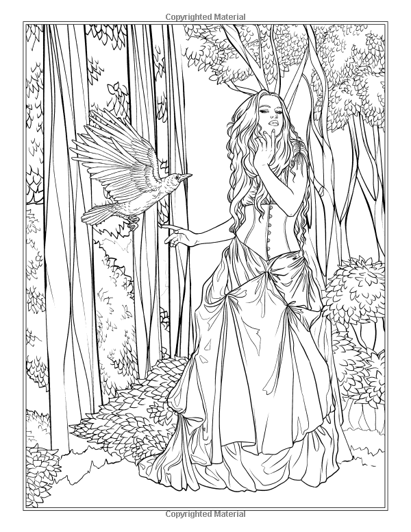 Amazon Com Night Magic Gothic And Halloween Coloring Book Fantasy Coloring By Selina Volume 10 97 Halloween Coloring Book Coloring Pages Coloring Books
