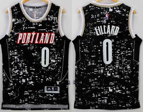 new styles 99a98 2b757 damian lillard city lights jersey