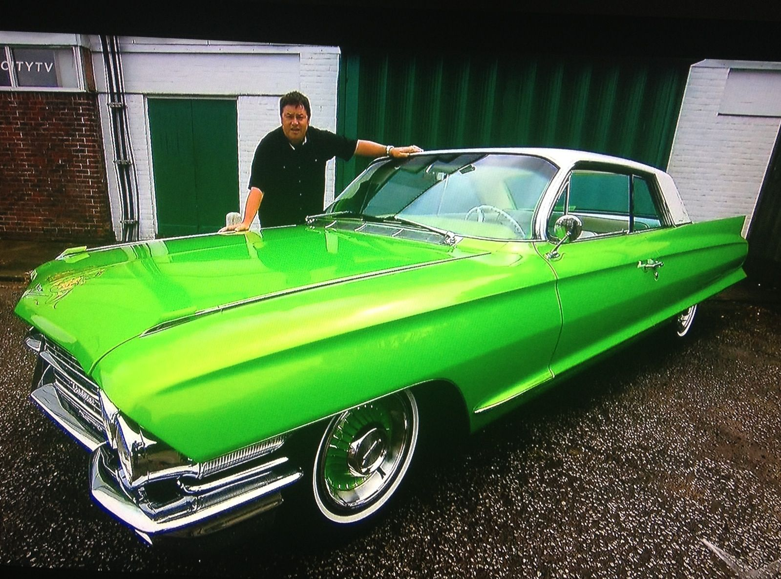 1960 cadillac done by wheeler dealers very nice this car was purchase here in california all. Black Bedroom Furniture Sets. Home Design Ideas