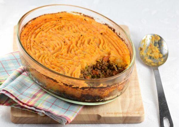 Shepherds Pie With Sweet Potato Mash Recipe Mashed Sweet Potatoes Sweet Potato Sweet Potato Shepards Pie