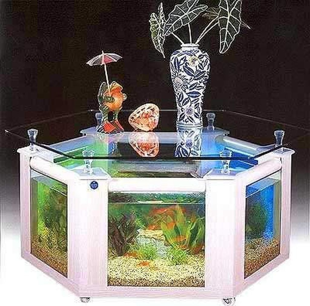 50 Amazing Aquarium Feature Coffee Table Design Ideas ...