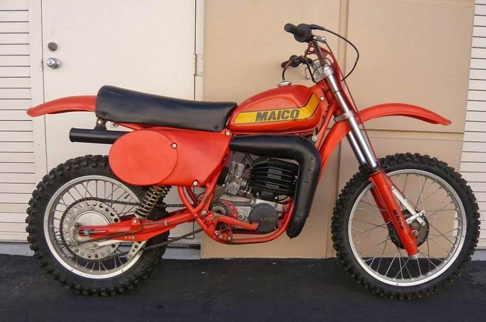 1979 Maico Magnum 250 440 Vintage Motocross Dirtbikes Vintage Bikes