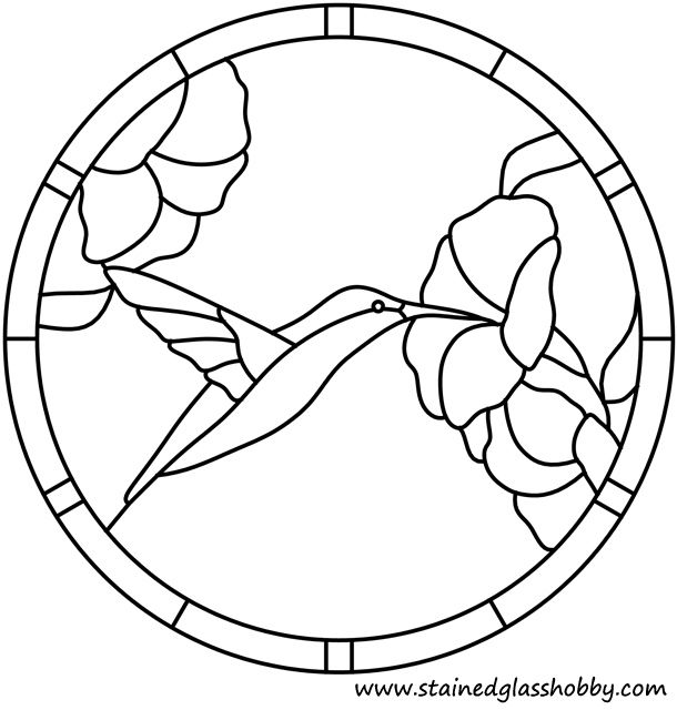 Of A Coloring Page Outline Of Stained Glass Flower Coloring Pages 01 ...