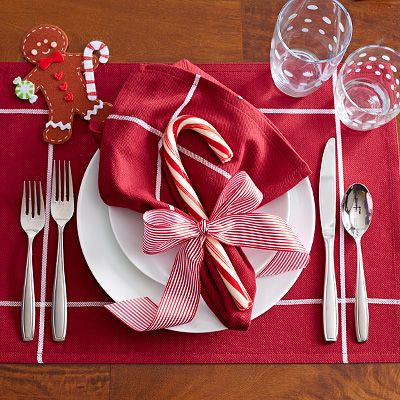 Christmas Place Settings holiday place setting: casual – the pampered chef® http://new