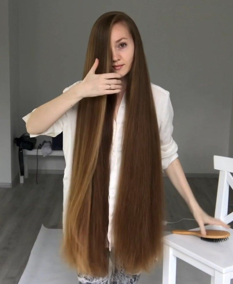 Video Bundrops And Brushing In White Realrapunzels In 2020 Long Thin Hair Long Hair Styles Thick Hair Styles