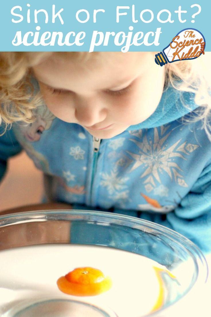 Does Fruit Sink or Float? Kitchen Science for Kids   Kitchen science ...
