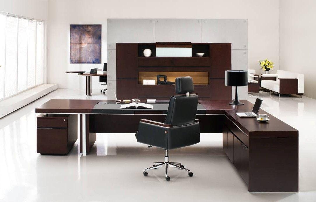 Superbe Gavin Modern Executive Desk