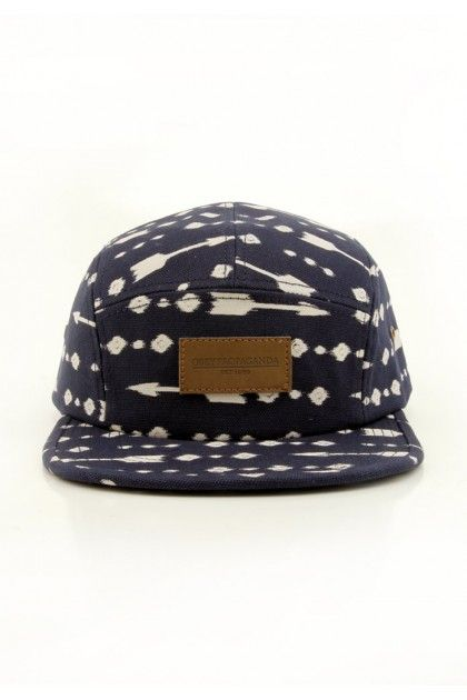 Obey Clothing Pacifica 5-Panel Canvas Hat - Navy $35.00