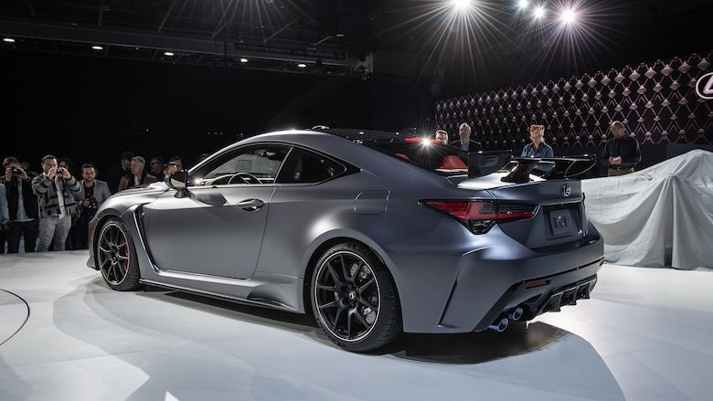 2020 Lexus RC F Track Edition First Look Power motors