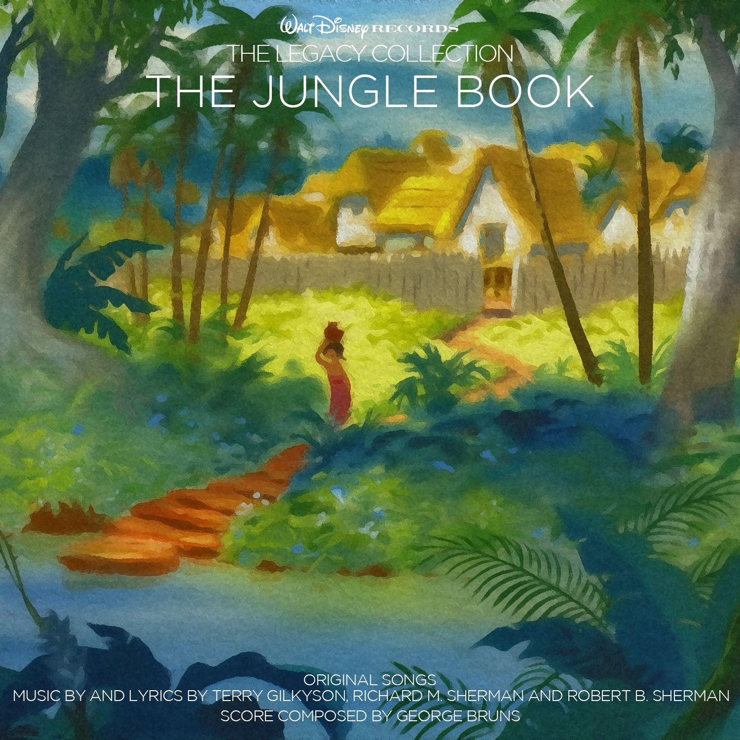 Custom Artwork For The Jungle Book In The Style Of Disney S The Legacy Collection I Used Concept Art From Th Custom Artwork Painting Illustration Disney Art