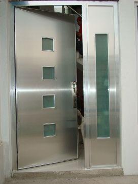 Resultado de imagen para puertas en aluminio y vidrio for Manijas para puertas de vidrio