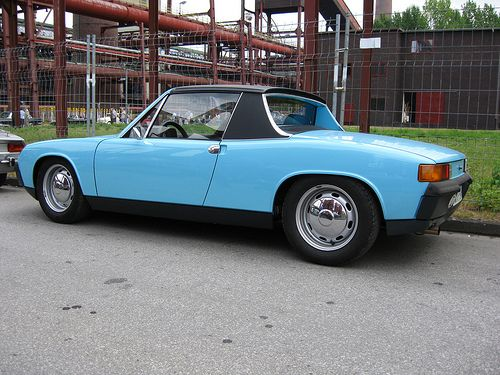 Porsche 914 - How Incredibly Sad Most people today would rather spend $59k on a base Porsche Cayenne than drive this. How incredibly sad.
