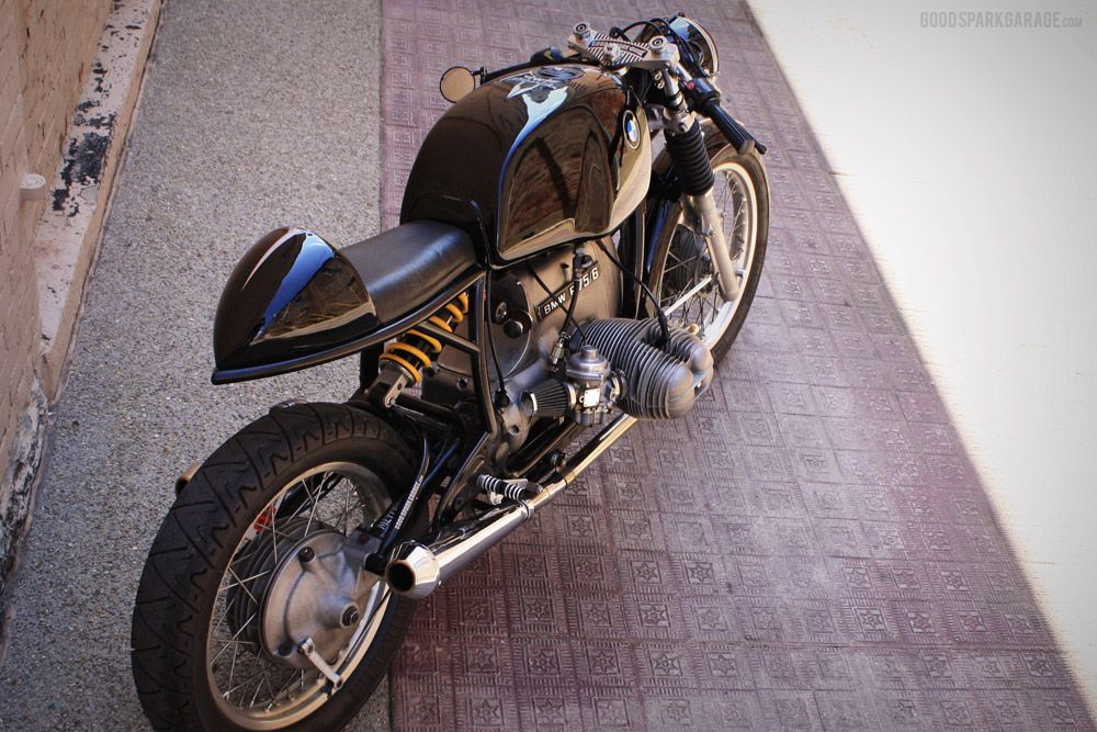 wilkinson bros bmw r75/6 cafe racer | good spark garage | need