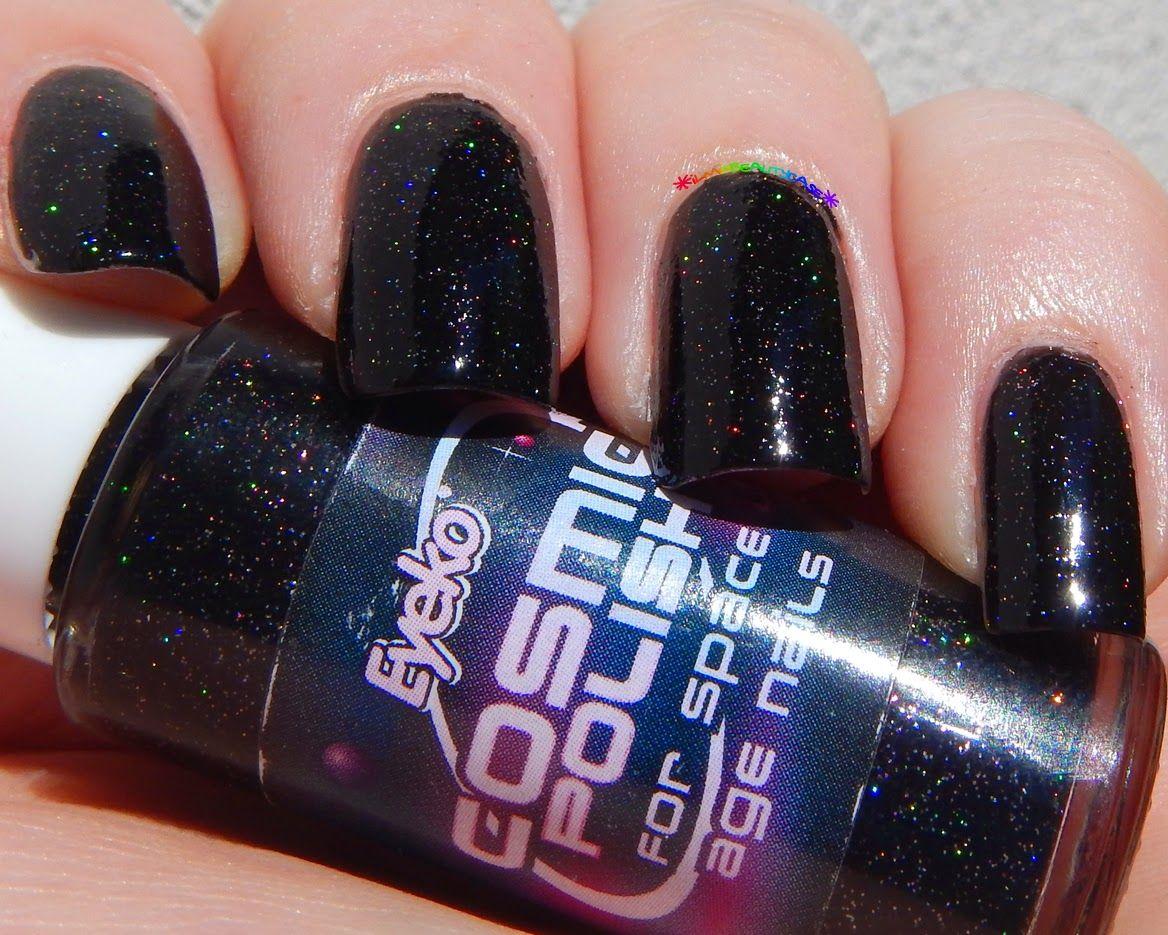 ilmiobeautycase: Eyeko Cosmic Polish | Black Nail Polish | Pinterest ...