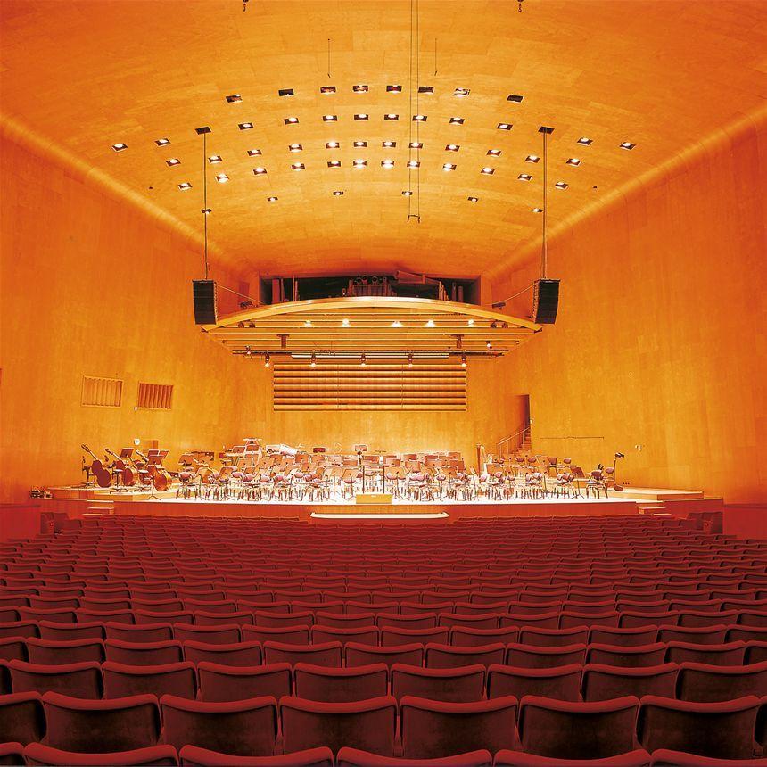 Hall Arch Designs For: Gothenburg Concert Hall, Architect Nils-Einar Eriksson