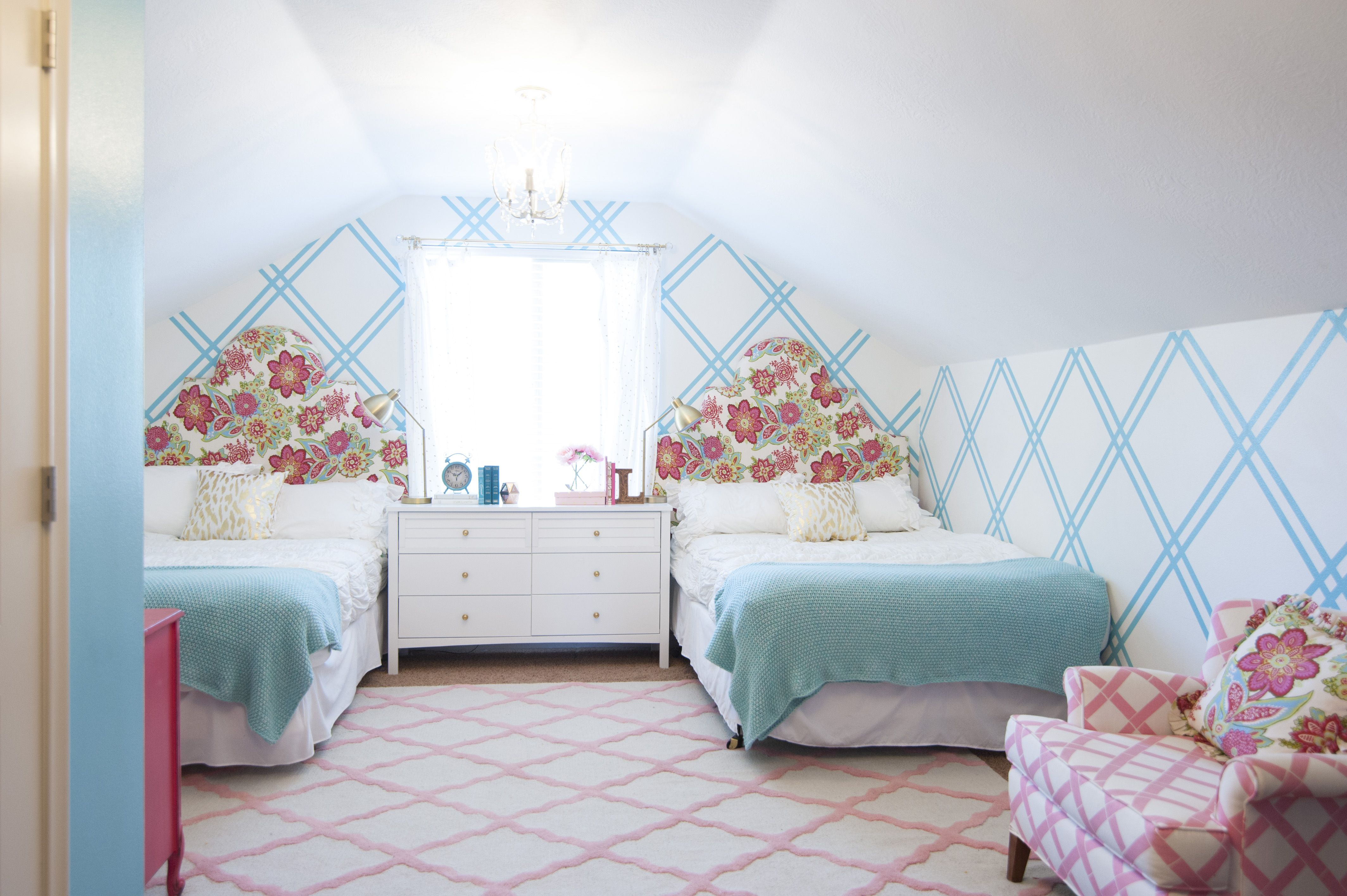 16 Colorful Girls Bedroom Ideas 16 Colorful