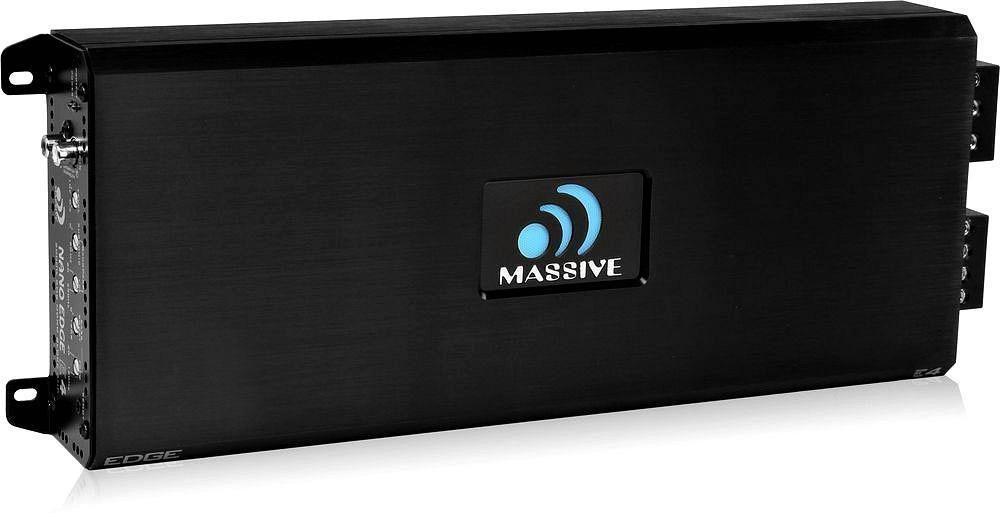 Massive audio e4 4000 w max 1ohm stable classd monoblock