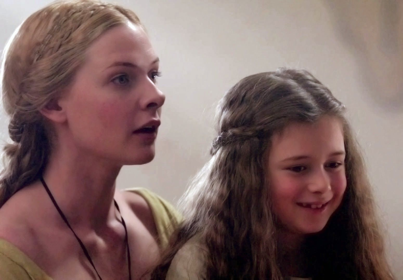 The White Queen Queen Elizabeth Woodville And Her Daughter The