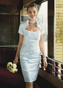 courthouse wedding dress | Court House Ideas...Why not ...