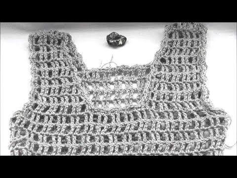 Crochet Top Part 3 Of 3 Youtube Zomertrui Haken Pinterest