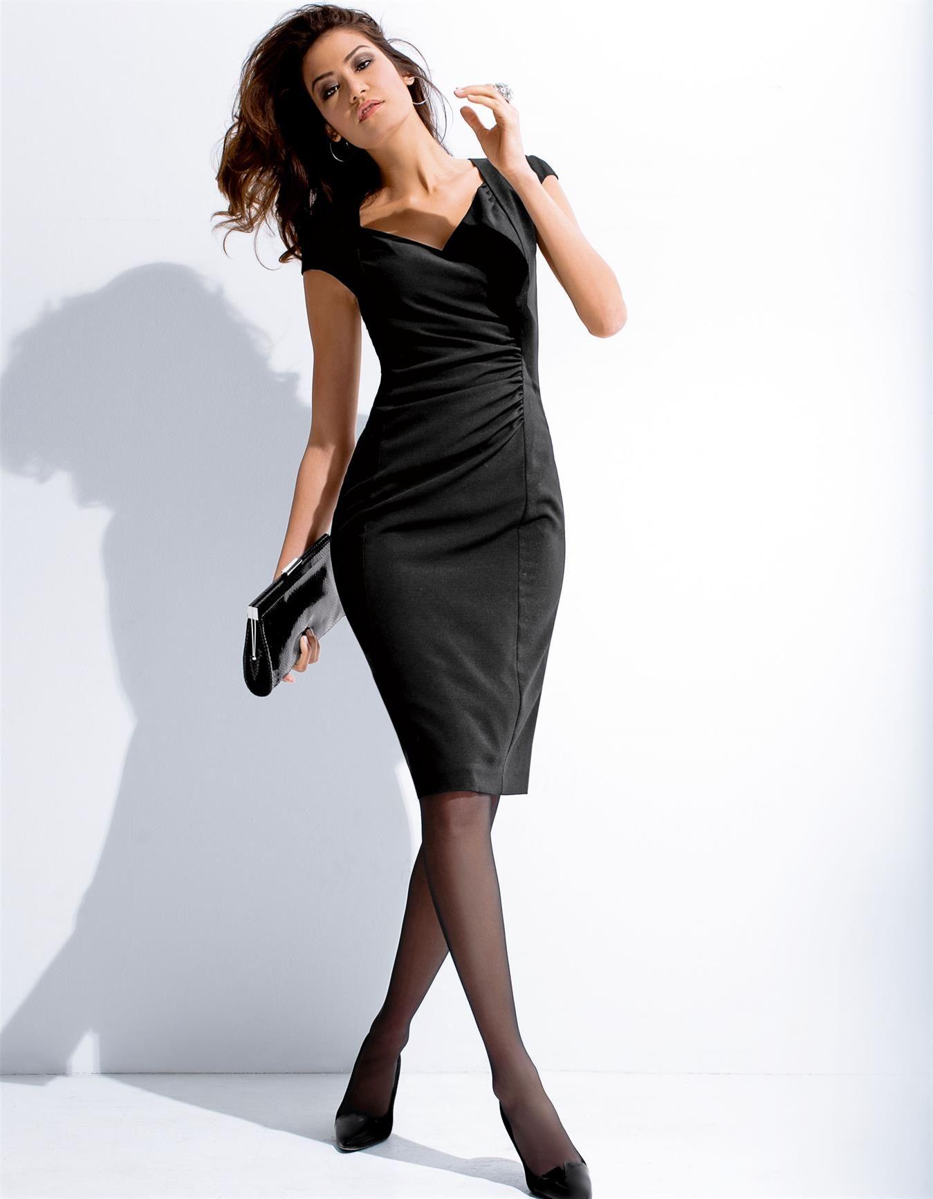 Kleid mit Raff-Effekt - MADELEINE Mode  Dresses, Fashion dresses