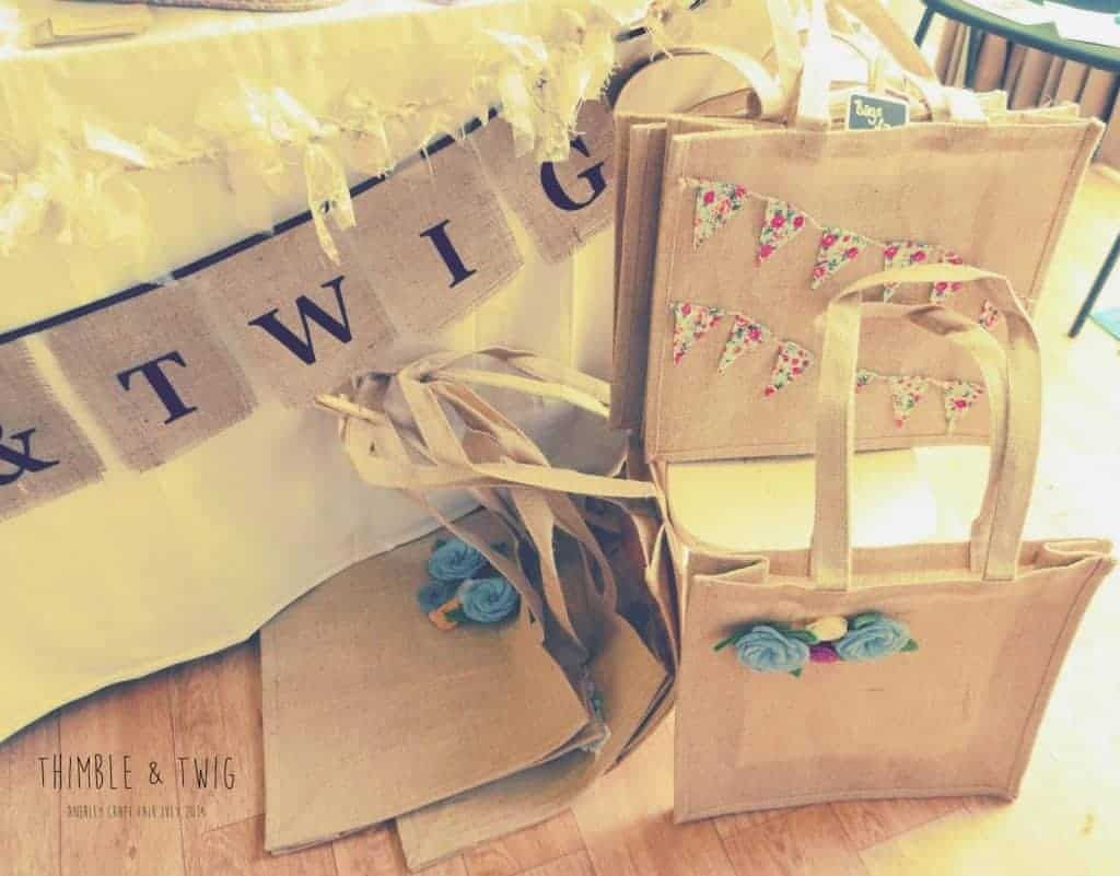The launch of Thimble and Twig..... Craft Stall Display Ideas - Thimble and Twig