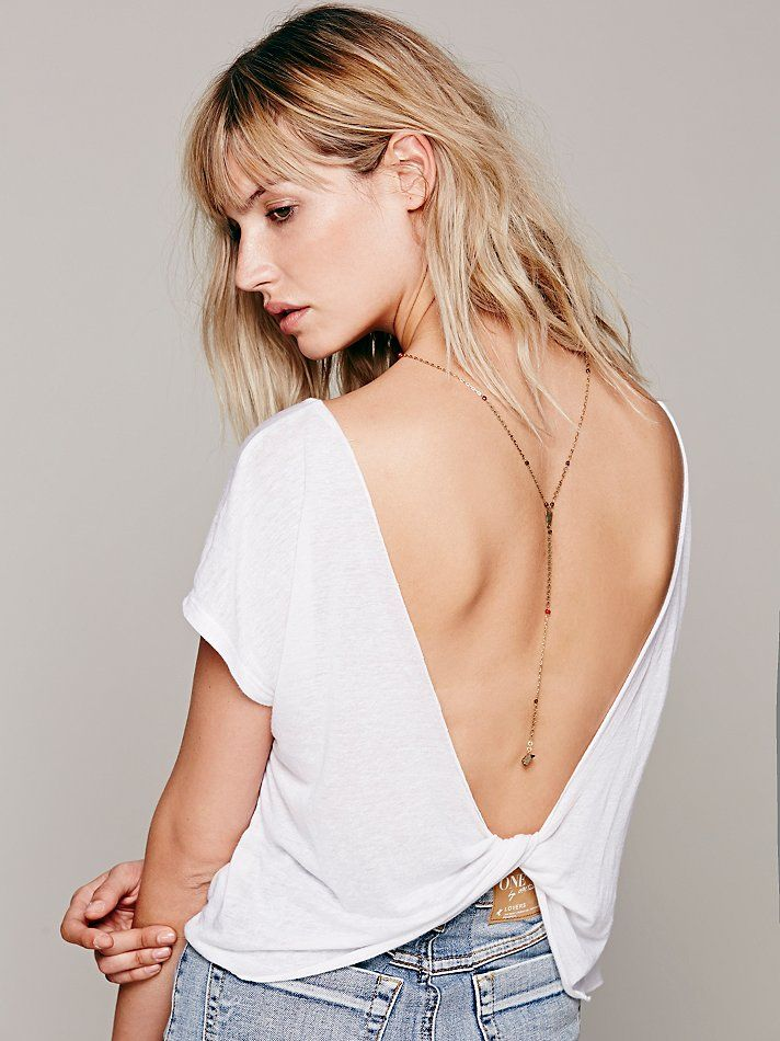 Free People Delicate Long Rosary, R$85.36
