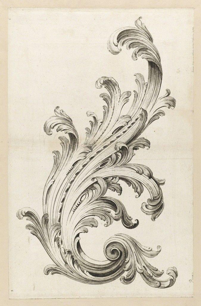 Acanthus Leaf Design c.1740
