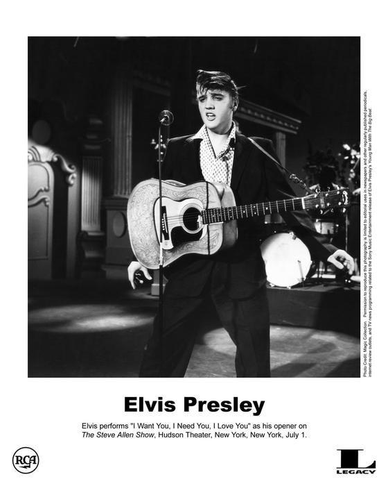 Elvis - New York, July 1, 1956 Steve Allen Show | ELVIS