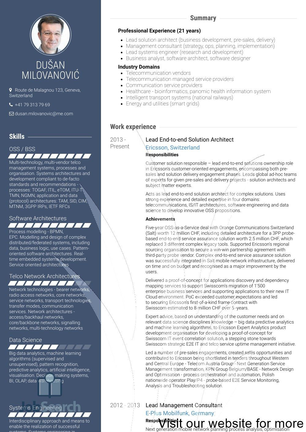 Resume Template Best Free Professional Architect Resume Resume Template Free Microsoft Resume Template