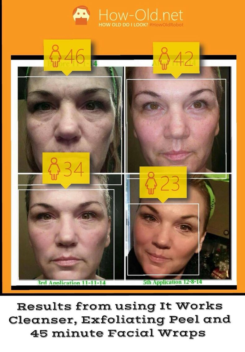 I LOVE our facial line and it will take years off your