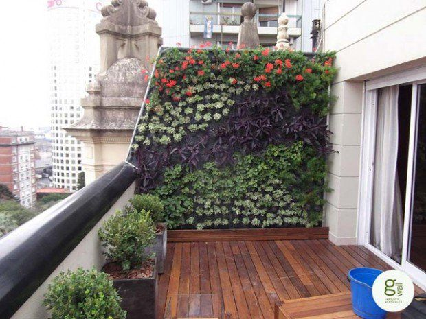 15 Amazing Ideas For Perfect Balcony Garden Style Motivation Apartment Patio Gardens Small Balcony Garden Apartment Garden