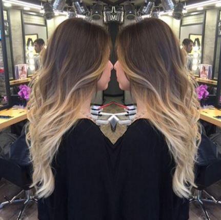 Kahverengi Ombre Sarı Saç Rengi 2016 Hair Hair Ombre Hair Ve