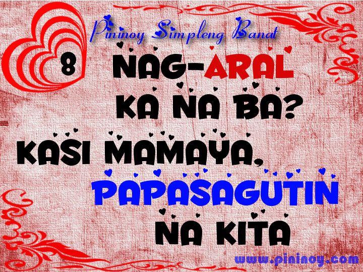 Papasagutin na kita #8 | Tagalog Pick-up Lines | Pinterest ...