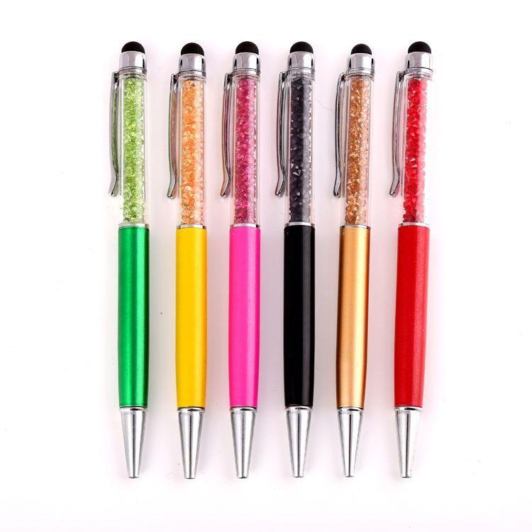 Yionloe Ballpoint Diamond Gel Pen Gift School Stationery Supplies Colored Pens Ballpoint Pens