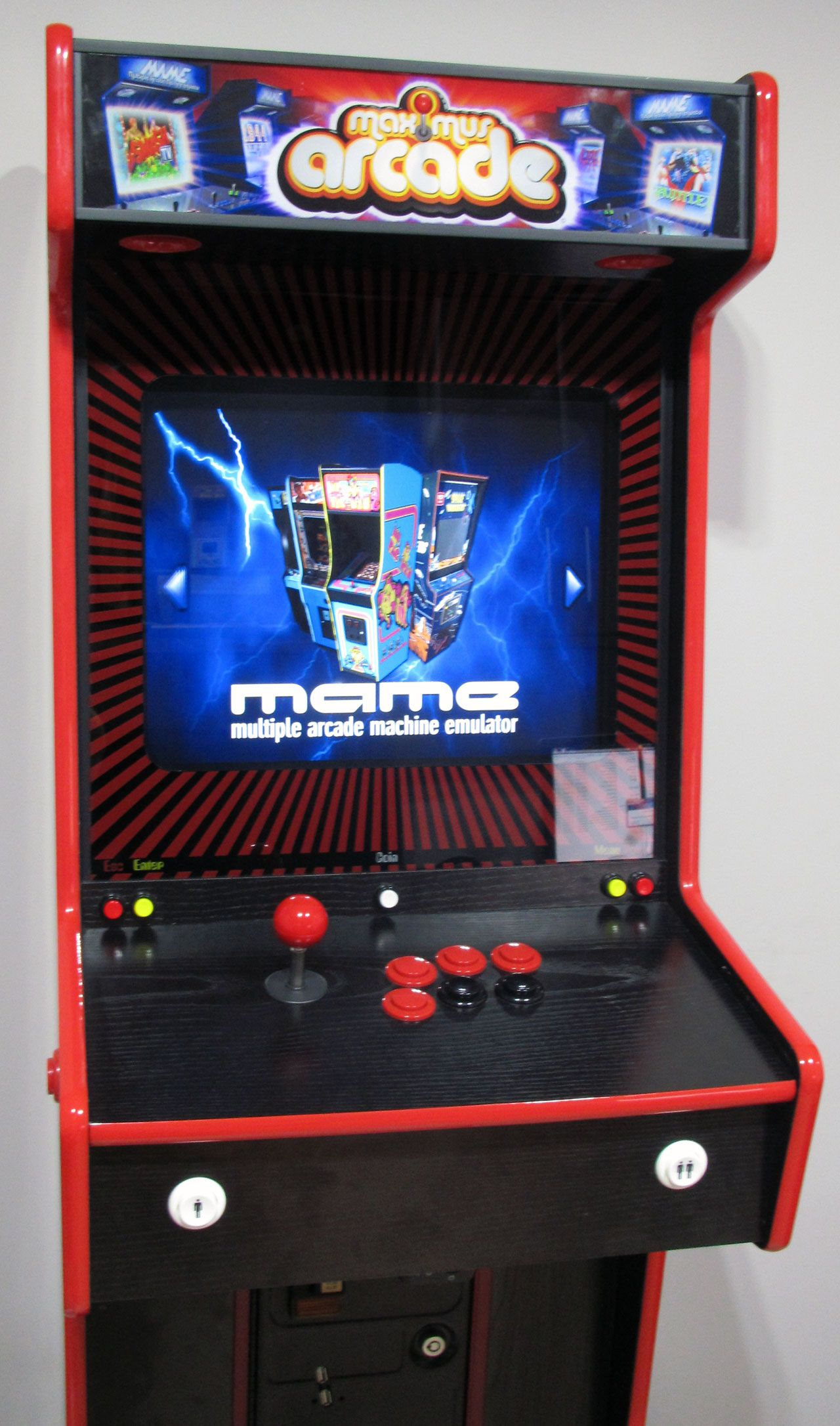 MY ULTRA SLIM PROJECT - MULTICADE | Arcade, Projects, Arcade machine