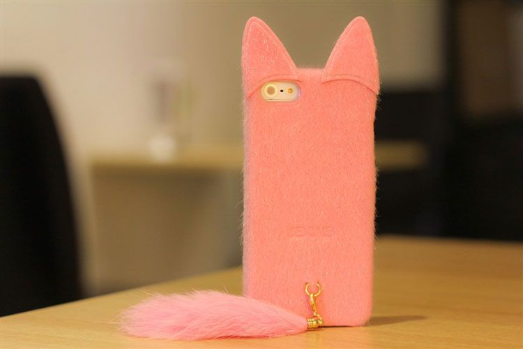 Lovely Soft Toy Cat iPhone 5 case 3d