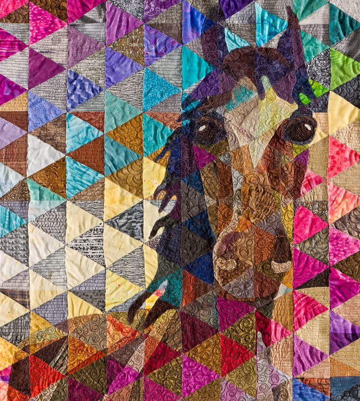 Horse Quilt- would be awesome for Mia or Meg! @Kylie Knapp Tobias ... : horse material for quilts - Adamdwight.com