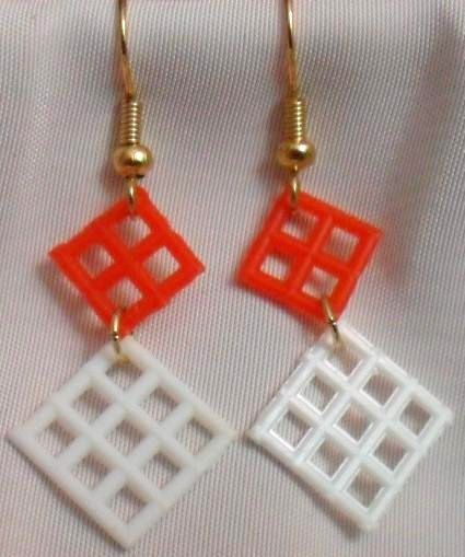 Hip To Be Square Earrings by CrashsCuriosities on Etsy, $10.00  Giants Earrings, 2012!!