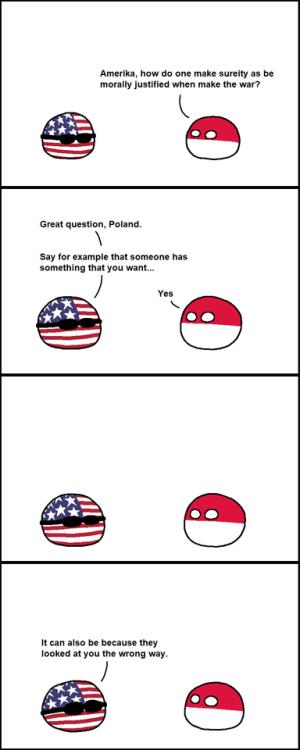 omg! Casus Belli via reddit | Countryballs | Joke stories, Funny