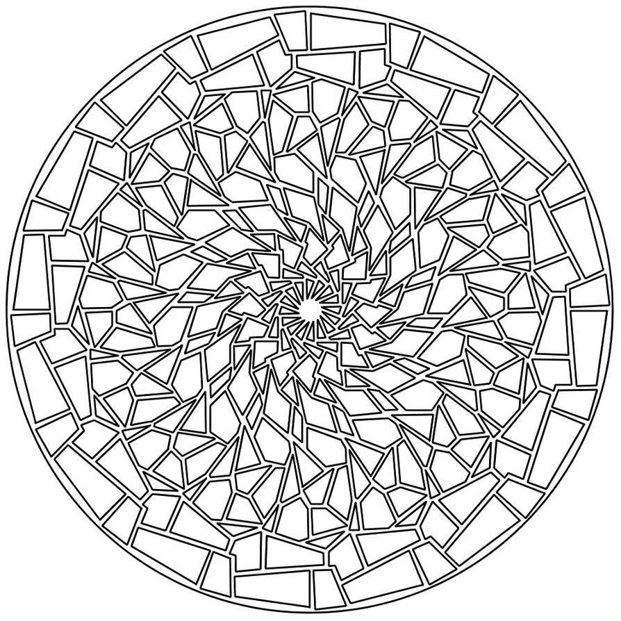 Mandala 137 By Sadadoki On Deviantart Mandala Artwork Mandala Coloring Pages Mandala Pattern