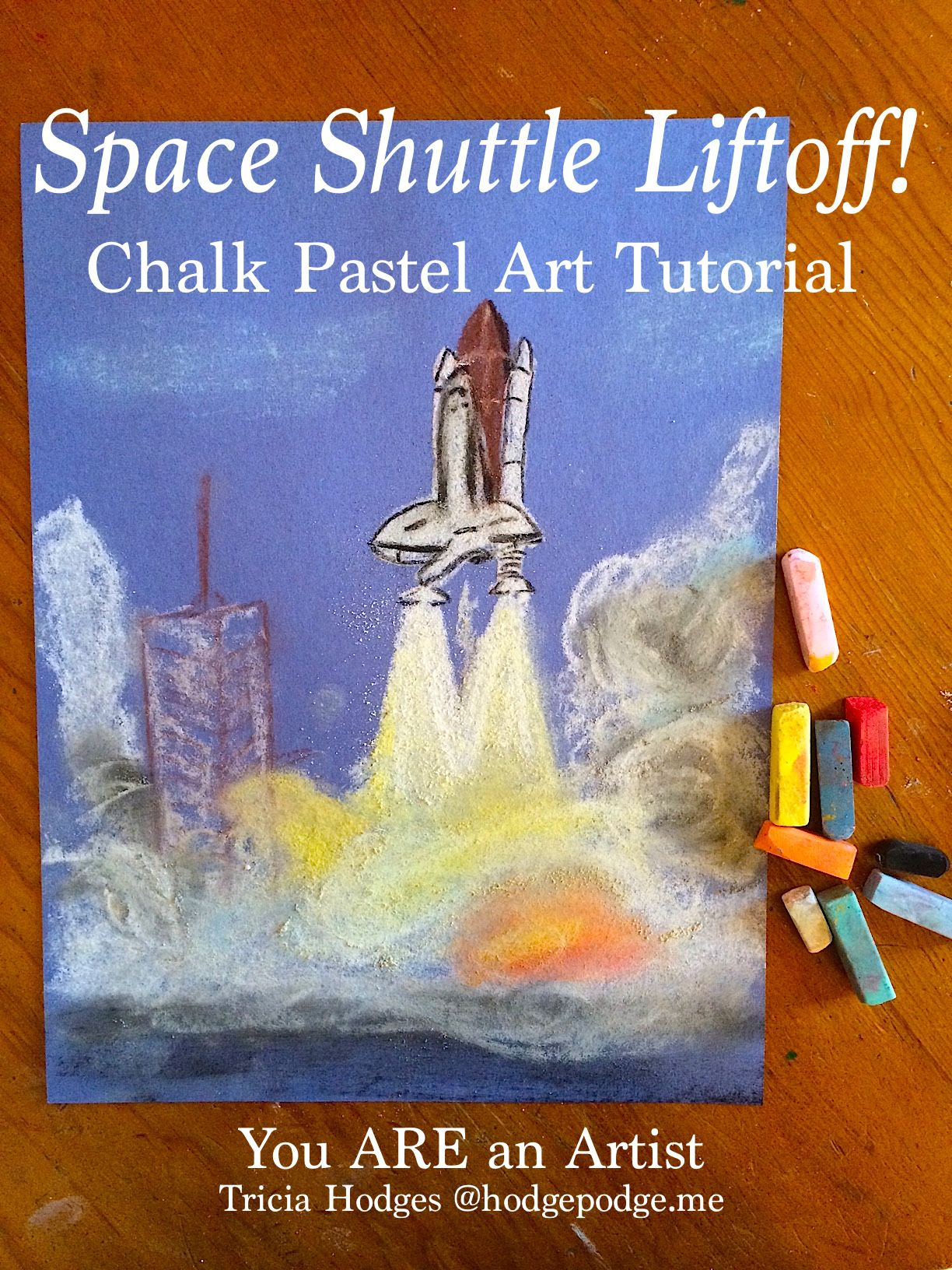 how to make a space shuttle