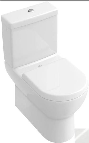 Villeroy Boch 6610u301 Subway Washdown Wc For Close Coupled Wc Suite Horizontal Outlet 14 5 8 Inch X 31 7 8 Inch X 26 3 8 Inch Villeroy Boch Toilet Suite