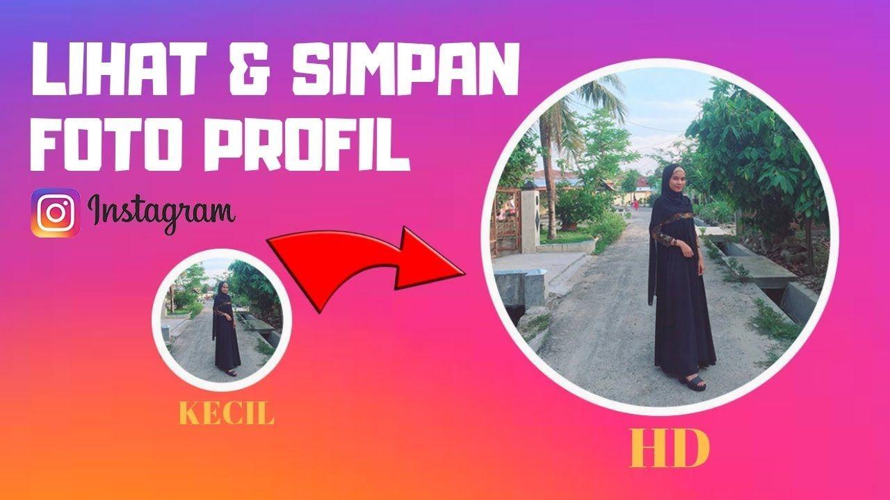 Cara Melihat Foto Profil Instagram Tanpa Aplikasi Gambar Profil Instagram Profil