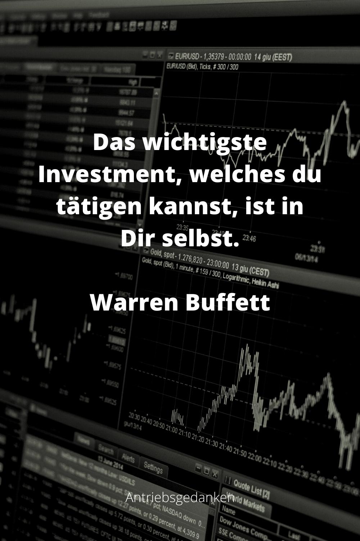Investiere In Dich Selbst In 2020 Zitate Spruche Investieren